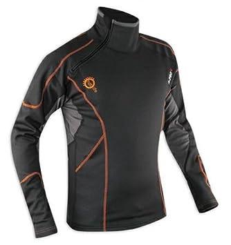 A-pro T-Shirt Thermique Manche Longue Vetement Anti Froid Homme Moto Homme XXL 5180000058272