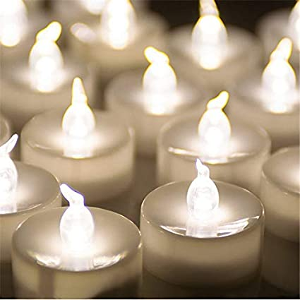Amazon Com Sulymy Candles Pack Of 12 Warm White Bougie Marriage