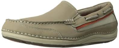 Rockport Men's Shoal Lake Slip-On Boat Shoe,Rocksand,10 M US
