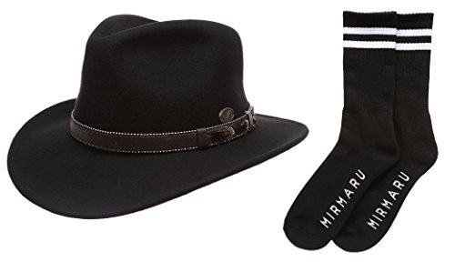 e6ce75ac6c59d Premium Outback Fedora Leather Socks