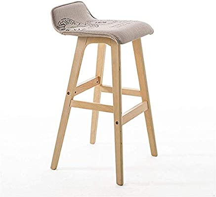 Amazing Amazon Com Seeksung Barstools Fashion Wood Seat Round Chair Ocoug Best Dining Table And Chair Ideas Images Ocougorg