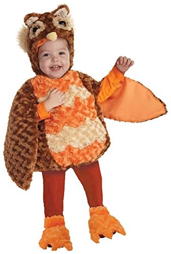 [UHC Boy's Owl Bird Belly Babies Theme Toddler Child Halloween Costume, L (2T-4T)] (Infant Owl Halloween Costumes)