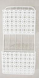 2 Pocket Wall File Holder, White