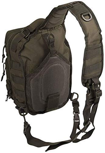 Amazon.com : Mil-Tec Single Shoulder Strap 10L Black Tactical Assault Backpack - 14059102 : Sports & Outdoors