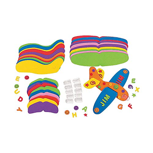 - Fun Express Foam Flying Gliders Craft Kits (Makes 12)
