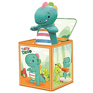Schylling Baby Dino Jack in The Box, Green (BDJITB)