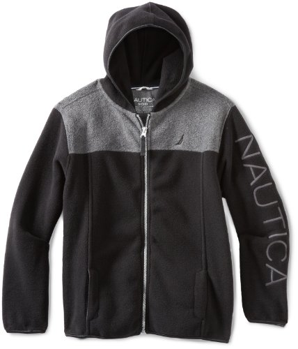 Nautica Sportswear Kids Big Boys' Polar Fleece Hoodie