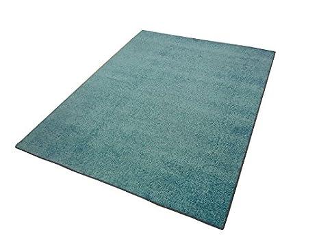 Tappeto Moderno Turchese : Tappeto moderno shaggy tappeto tampa blu turchese uni monocolore