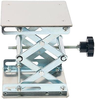lab Instrument CHENZHIYU CZYU 6X6 Stainless Steel Lab Jack Laboratory Jack Lab Support