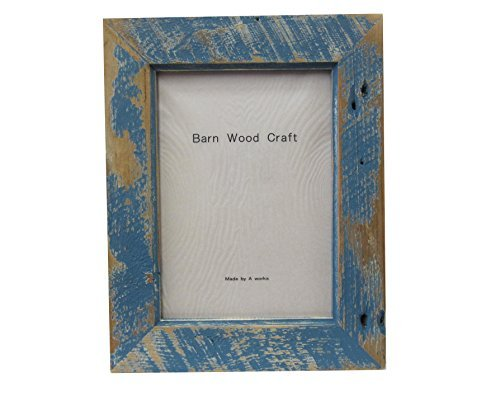 Frame Barn Wood Standard 8 x 10 Soldier Blue by A-WORKS