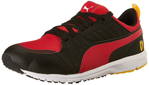 Puma Mens Pitlane Sf Sneaker Svart Rosso Corsa