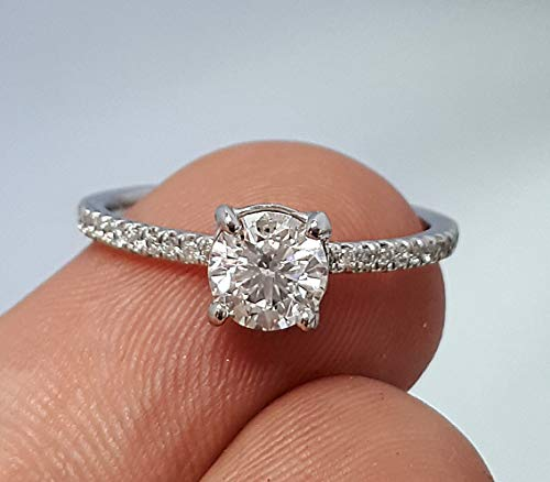 1.05 Ct Diamond Band - 8