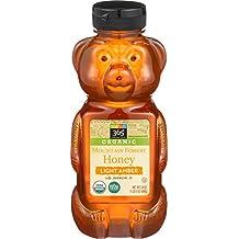 365 Everyday Value Organic Mountain Forest Honey Light Amber, 24 oz