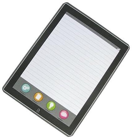 Amazon com : Screen Faker Tablet Mimic 50-Sheet Ruled Notepad Pkg