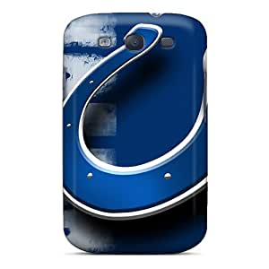 Shockproof Hard Phone Case For Samsung Galaxy S3 (tCU14632NbTk) Support Personal Customs HD Indianapolis Colts Series