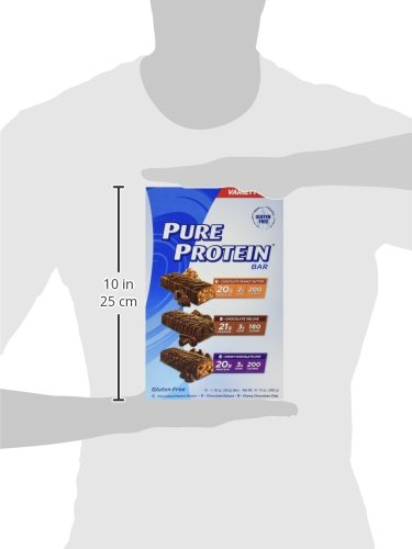 Pure Protein Bars, Healthy Snacks to Support Energy, Variety Pack, 1.76 oz, 18 Count by Pure Protein (Image #10)