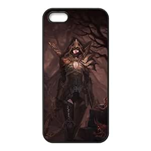 diablo iii iPhone 4 4s Cell Phone Case Black custom made pgy007-9986322