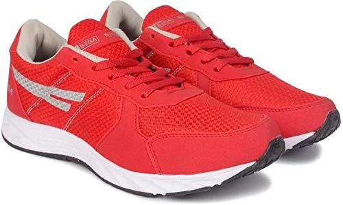 Buy SEGA Men's Red Running Shoes - 6 at