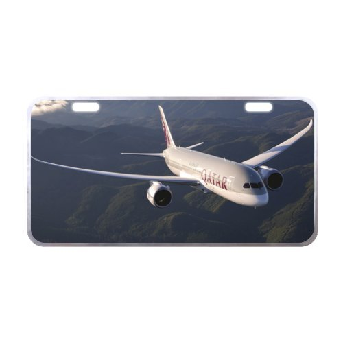 Boeing airplane License Plate with Lightweight-11.8