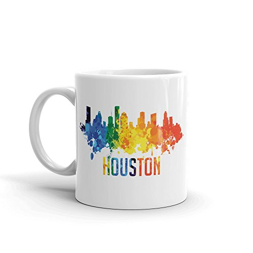 Mug Houston - Houston City Travel 11oz Ceramic Coffee Mug