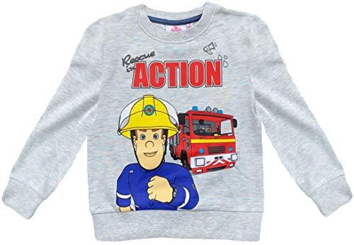 Coole-Fun-T-Shirts Brandweerman Sam Sweatshirt knuffelige kinderhoodie jongens trui met capuchon zacht + warm blauw of…