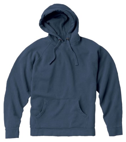 Garment Dyed Pullover Hood (Comfort Colors 9.5 oz. Garment-Dyed Pullover Hood, BLUE JEAN, Small)