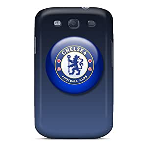 Sandrajh Premium Protective Hard Case For Galaxy S3- Nice Design - Chelsea Fc