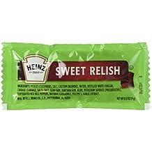 Heinz Sweet Relish Single Packs 50 Packs