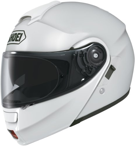 Shoei Multitec Modular Helmet - Shoei Neotec White Modular Helmet - X-Large