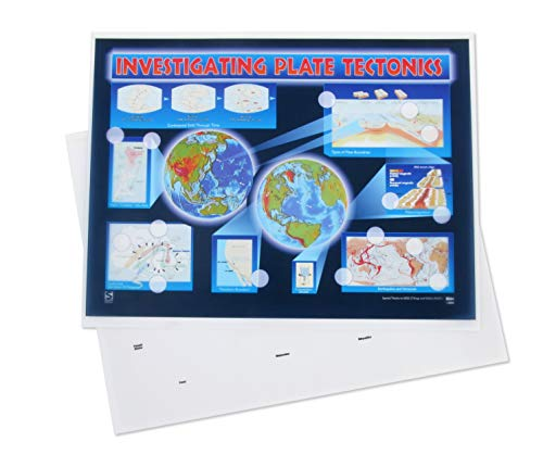 - American Educational Plate Tectonic Chart Transparency Set
