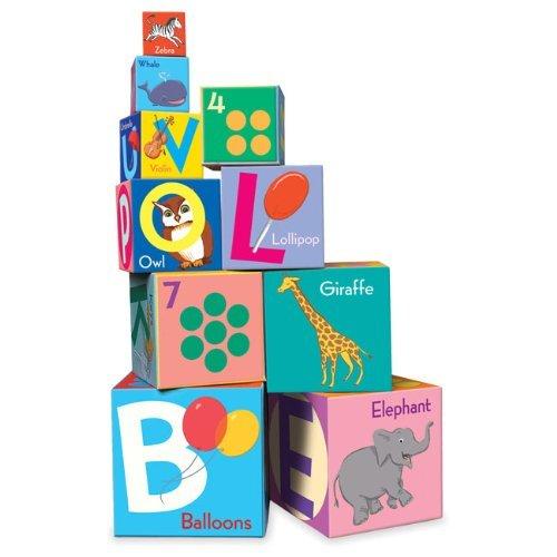 Alphabet Tot Tower - Alphabet Tot Towers by eeBoo