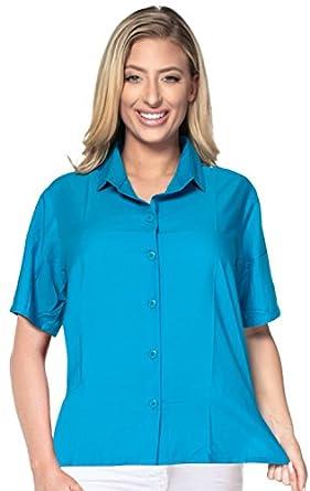 Beach Top Ladies Hawaiian Shirt Blouses Tank Casual Aloha Holiday