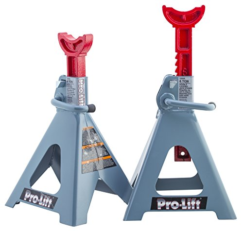 (Pro-LifT T-6906D Double Pin Jack Stands - 6 Ton)
