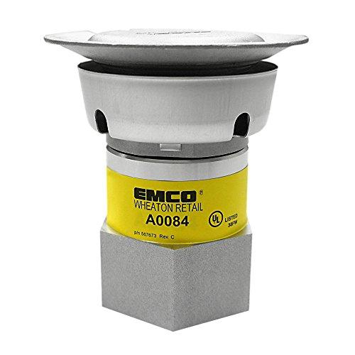 EMCO WHEATON A0084-204 Vent P-V, Aluminum, 13.86