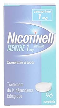 Nicotinell 1 MG Nicotine Smoking Cessation Lozenges - 96 Pieces - Mint Flavor