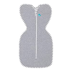Love To Dream Swaddle UP Original 1.0 TOG, Gray, Small, 8-13 lbs.