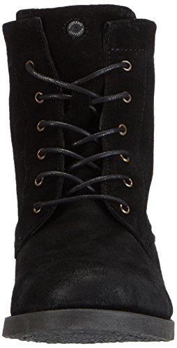 nobrand Blinker - botas de cuero mujer negro - negro