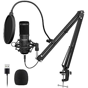 Amazon.com: Zingyou ZY-801+ - Micrófono de condensador para ...