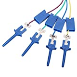 Rarido 20Pcs Test Clamp Wire Hook Test Clip for