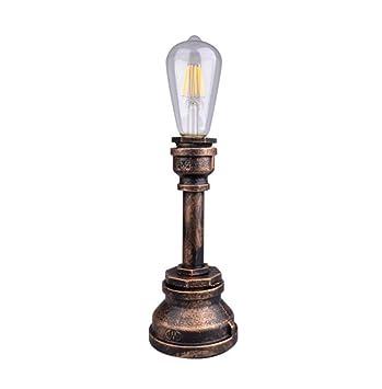 Lámpara De Pie De Hierro Forjado Creativo Manguera Lámpara ...