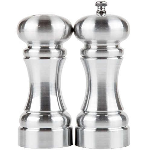 (Chef Specialties 5 Inch Westin Pepper Mill and Salt Shaker Set)