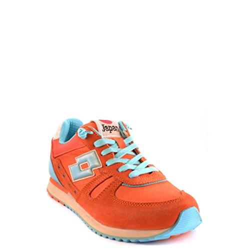 Zapatos nn236 Lotto Donna rojo naranja