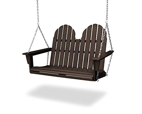 (POLYWOOD Vineyard Swing, Mahogany )