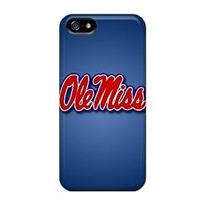 CucciRiver BaV18570IFXa Case Cover Iphone 5/5s Protective Case Ole Miss Rebels