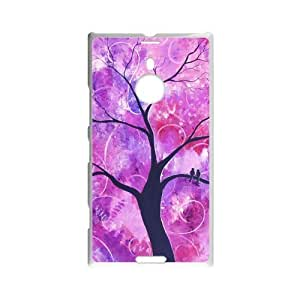 Love Tree of Wisdom - Retail Packaging Colorful Tree Pattern Custom Case for Nokia Lumia 1520