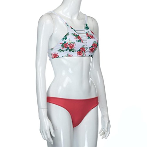 Rcool Bañadores Bikinis Bikini Push Up Deportivos Bañador Trajes De Baño Swimwear Traje De Baño Mujer Vestidos De Baño Ropa De Baño Flor