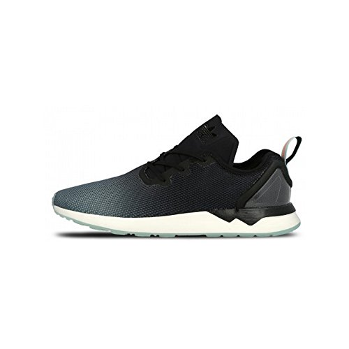 Adidas Men Zx Flux Adv Asimmetrico (nero / Core Nero / Blu Glow) Taglia 10 Us