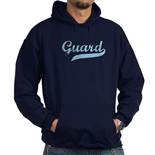 CafePress Guard Pullover Hoodie, Classic & Comfortable Hooded Sweatshirt Navy