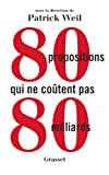 Image de 80 Propositions qui ne coûtent pas 80 milliards (French Edition)