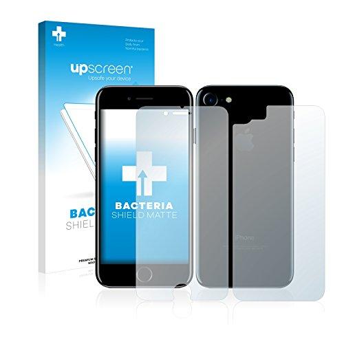 upscreen Bacteria Shield Matte Pellicola Protettiva Opaca per Apple iPhone 7 (Anteriore + Posteriore) Proteggi Schermo Antibatterica, Antiriflesso